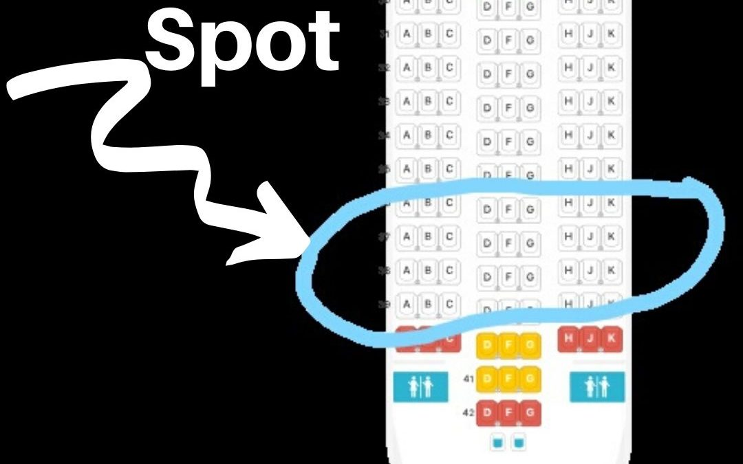 Where To Sit on an Airplane with Kids