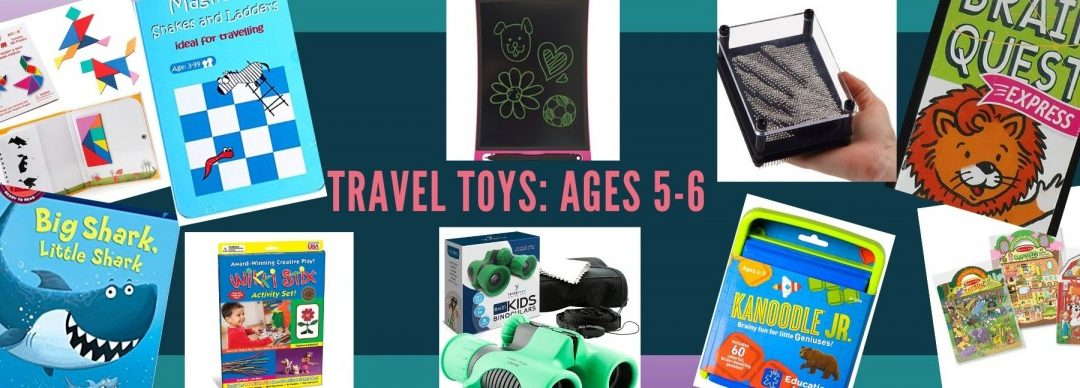 Best Travel Toys for Kindergarteners: Top 12 to Pack